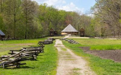 Guests can visit the Pioneer Farm and learn about Washington's agricultural practices.