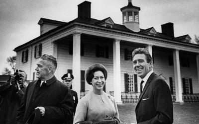 Princess Margaret and Lord Snowden at Mount Vernon, 1965