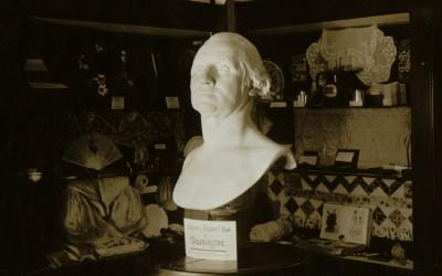 The Houdon Bust, the Relic House, 1925