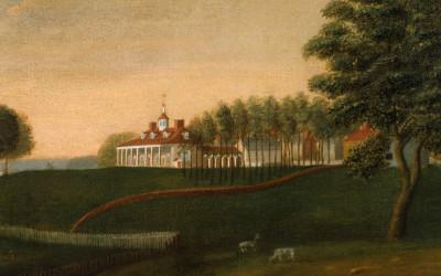 Edward Savage Painting of the Mansion