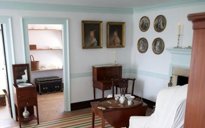 The Washingtons' Bedchamber