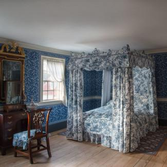 Chintz Room and Blue Room Restored