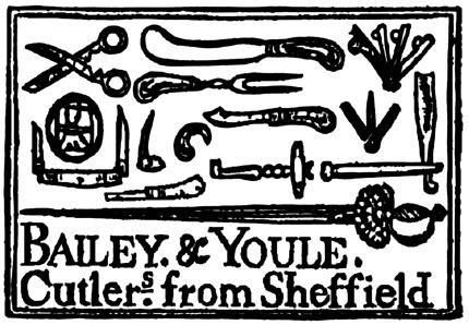 Advertisement by Bailey & Youle which appeared in The New-York Gazette and the Weekly Mercury of March 4, 1771.