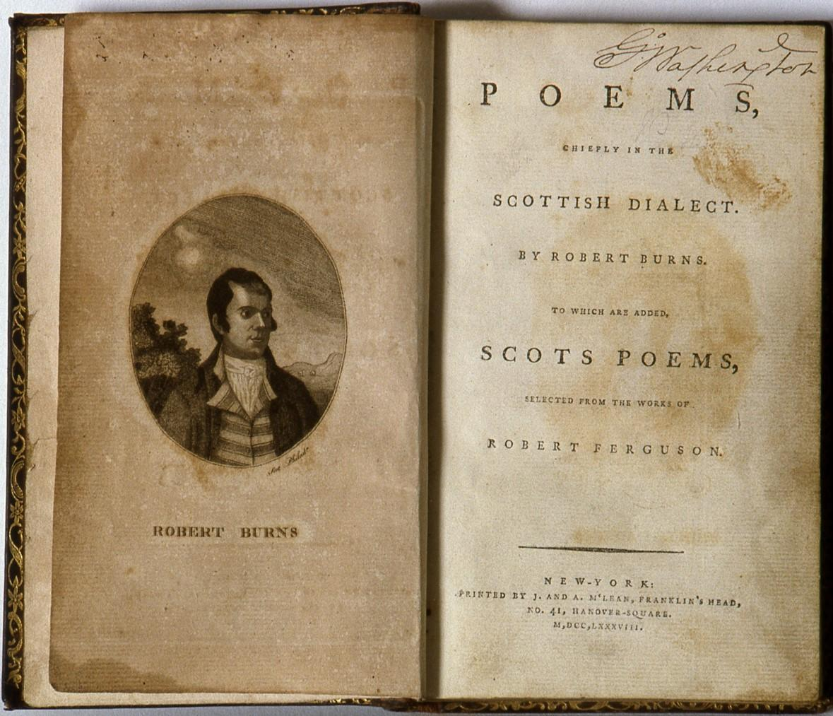 Poems, Chiefly in the Scottish Dialect, Robert Burns, 1788 [W-1498]
