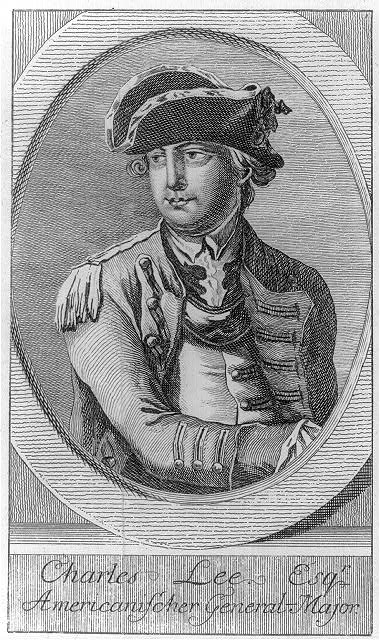Charles Lee Esq'r. - Americanischer general-major, G.N. Raspe Nürnberg, [1778], Library of Congress.