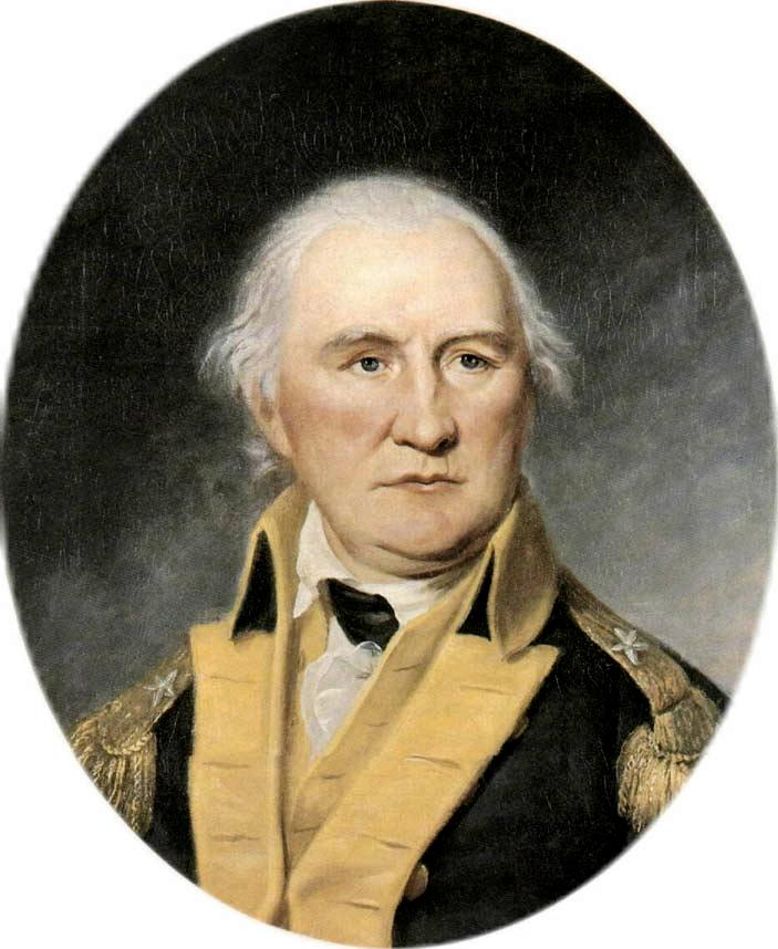 Daniel Morgan, by Charles Wilson Peale. Courtesy Wikimedia Commons.