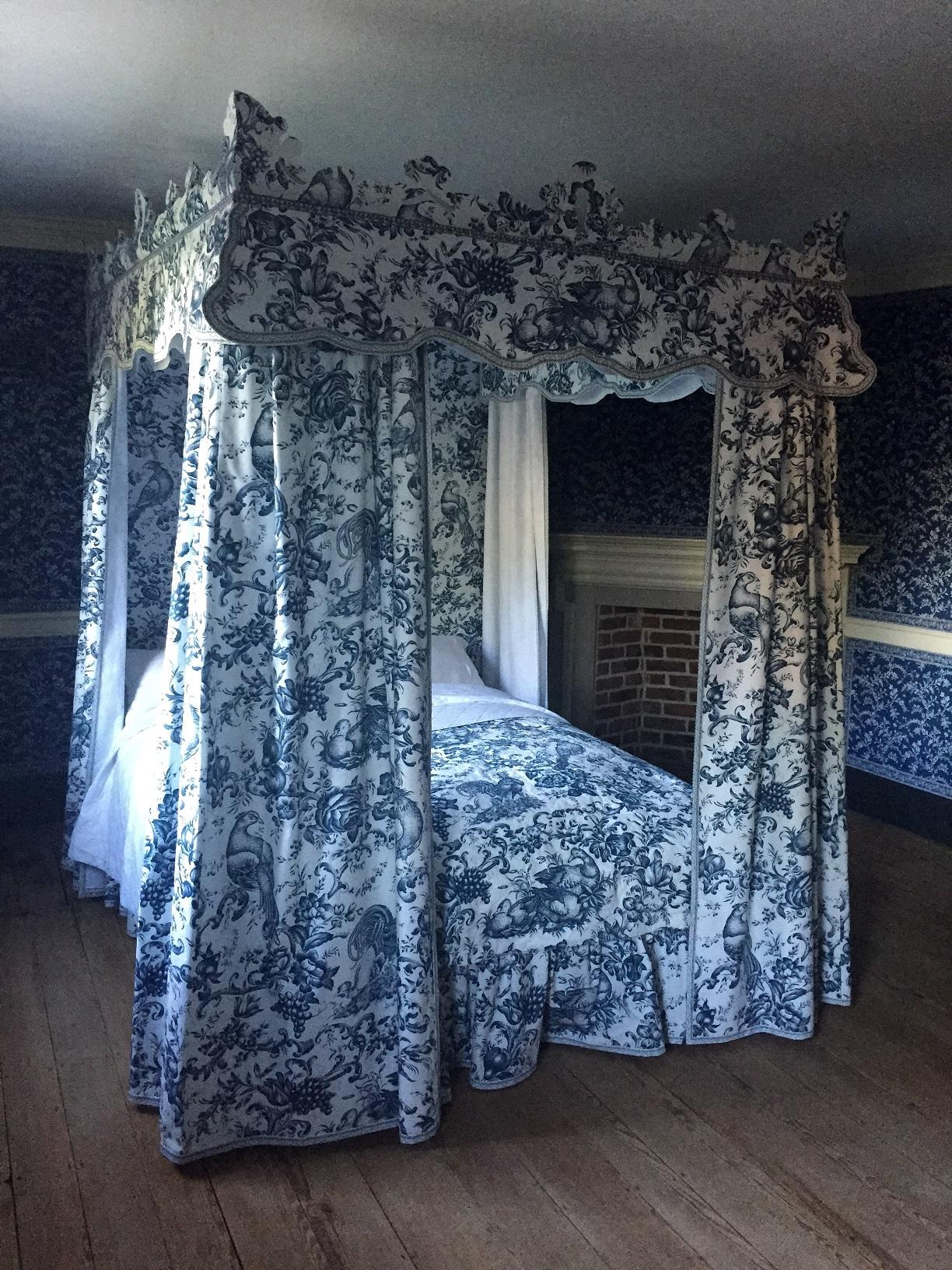 The Blue Room after the 2017 restoration project. (Gavin Ashworth, MVLA)