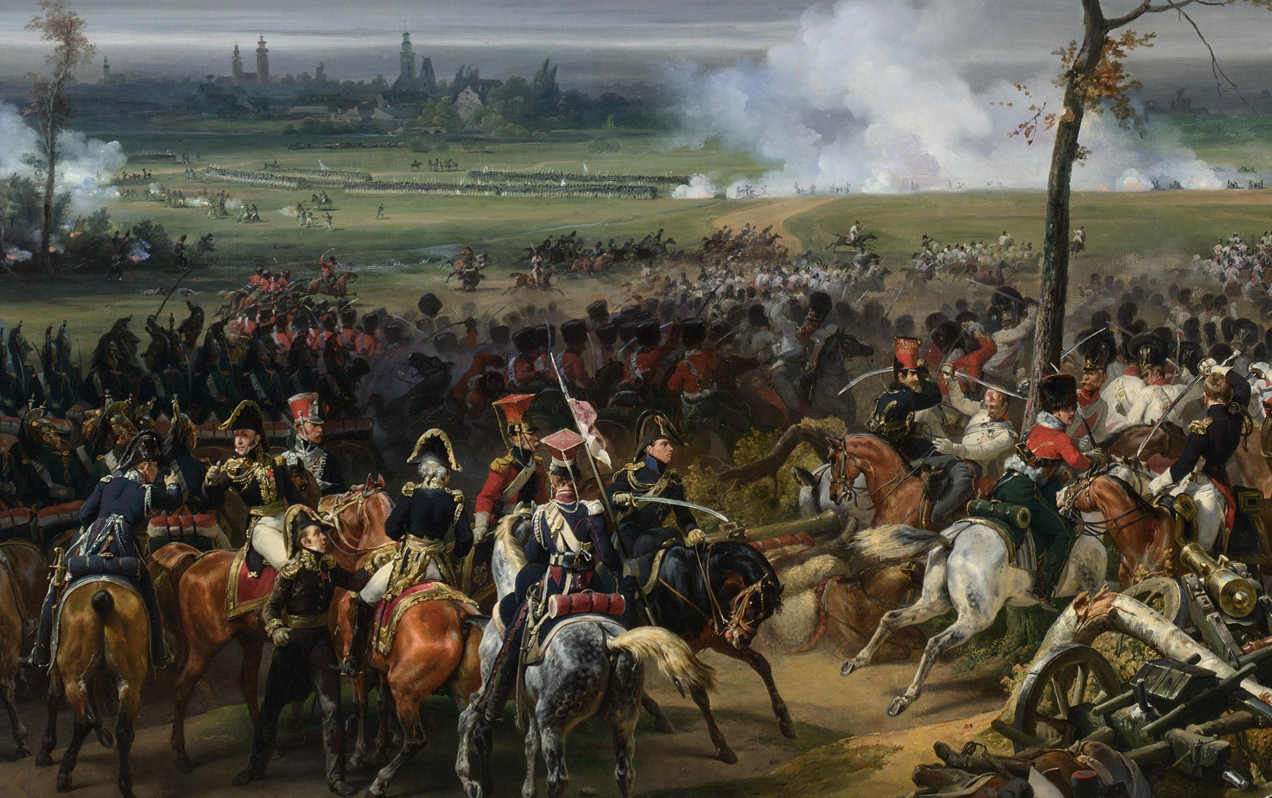 The Battle of Hanau (Napoleonic Wars) by Horace Vernet