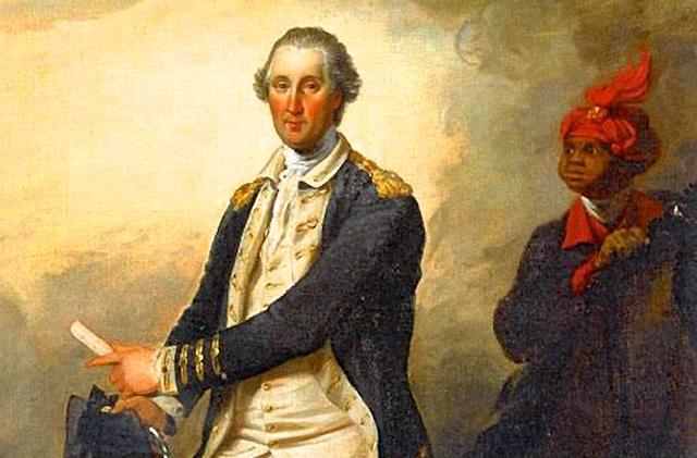 Washington with William Lee