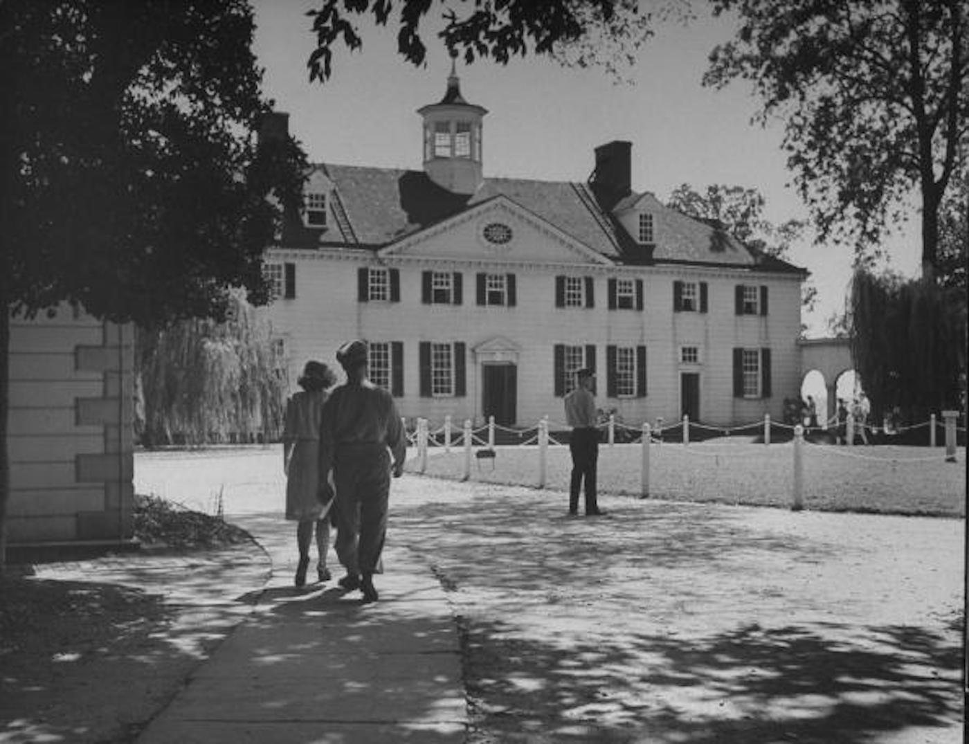 Mount Vernon in 1945 - © Getty Images