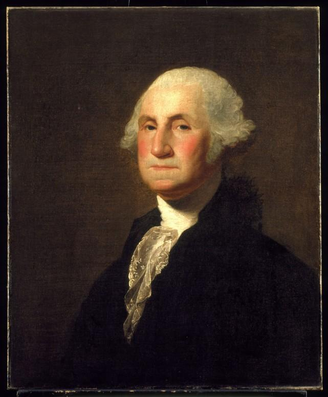 George Washington by Gilbert Stuart, c. 1798. Gift of Caroline H. Richardson, 1904 [H-4].