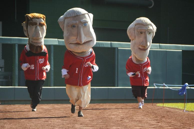 The President's Race at Nationals Park in Washington DC (Scott Abelson - Flickr Creative Commons)