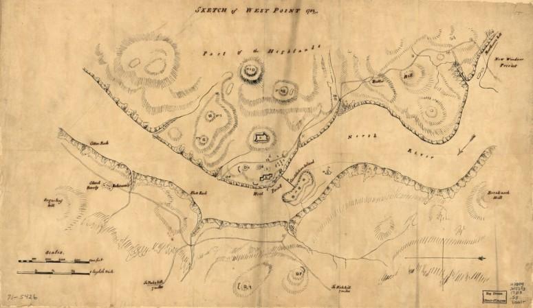 American Revolution Blank Map
