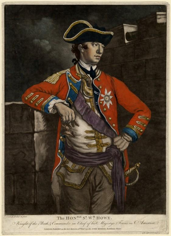 Gen. William Howe, Washington's opponent in the New York Campaign. (Anne S.K. Brown Military Collection)