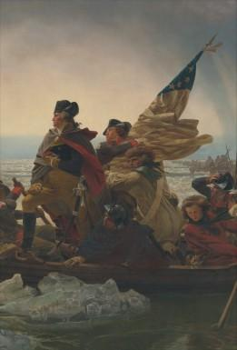 Washington Crossing the Delaware by Emanuel Leutze (Metropolitan Museum of Art)