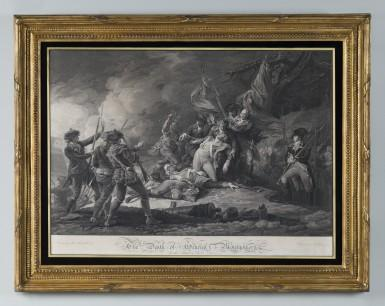 The Death of General Montgomery in the Attack of Quebec, December 1775, 1798, by John Trumbull. Purchased by the Connoisseur Society of Mount Vernon, 2012 [W-5288]. Photograph by Gavin Ashworth.