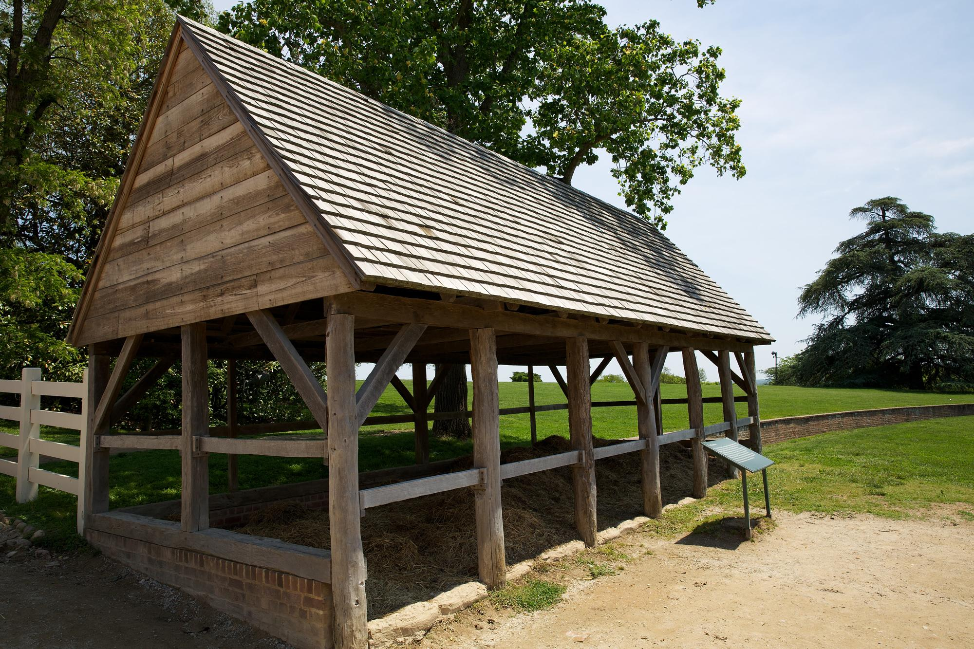 The repository for dung at Mount Vernon (MVLA)