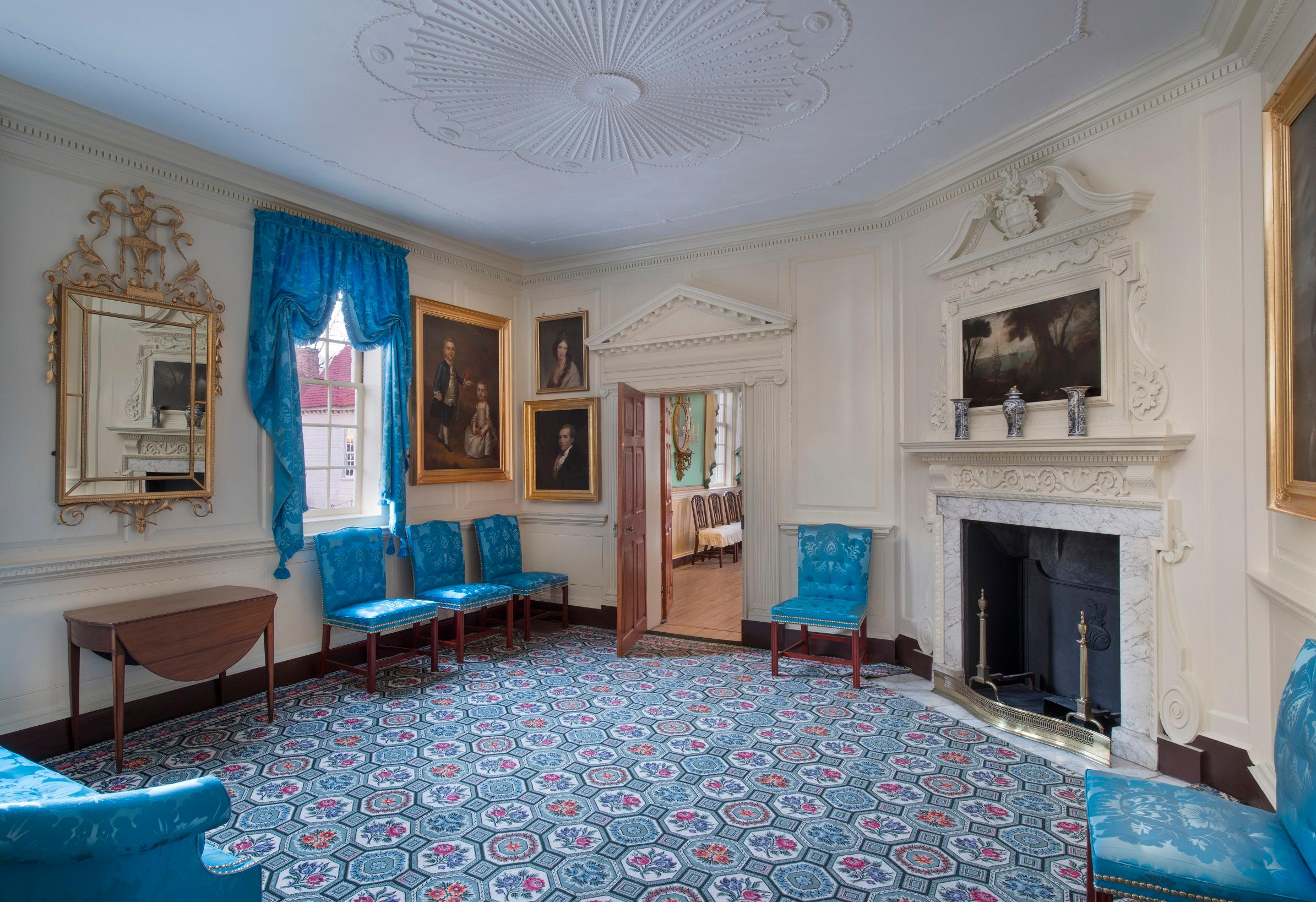 Front Parlor after the restoration, Gavin Ashworth.