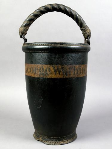 Fire bucket, 1797, MVLA W-403.