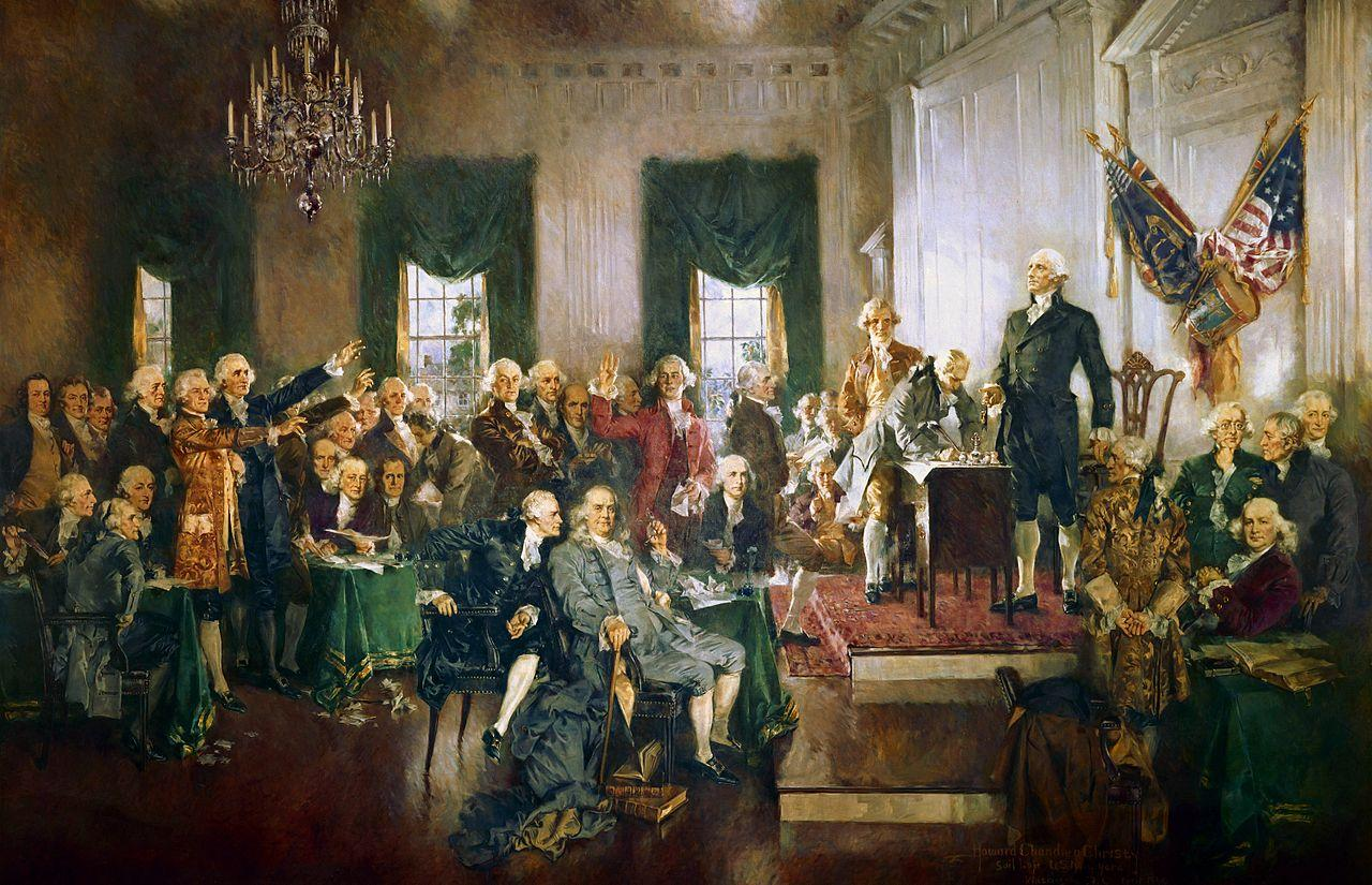 Washington was not interested in being a part of politics, but it was clear no one else could lead the convention