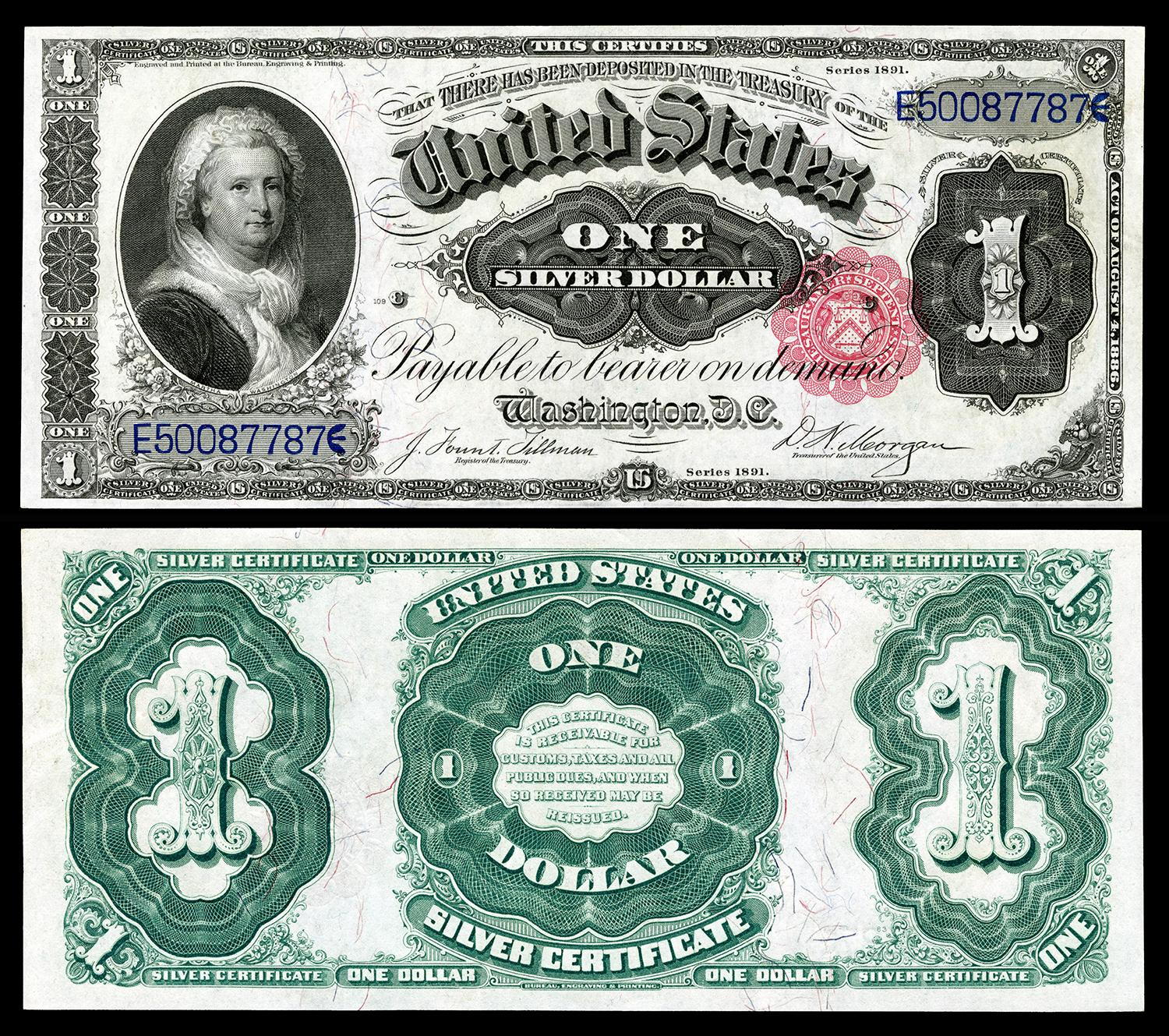 Martha Washington is the first and only woman to grace the primary portrait of U.S. paper currency.