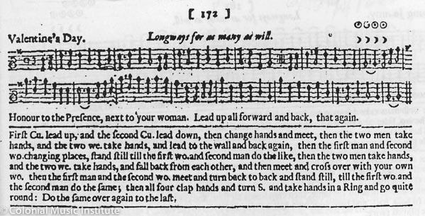 """Figure 2: """"Valentine's Day"""" Courtesy of the Vaughan William Library of the English Folk Dance and Song Society"""